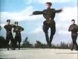 танцы Советских солдат