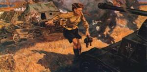 Медсестра Великая Отечественная войны