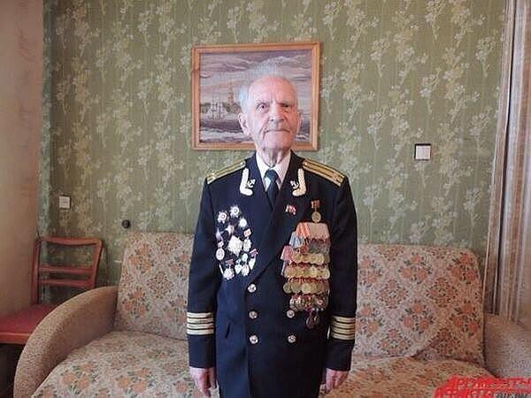 Николай Михайлович Беляев, 92 года. Последний оставшийся в живых солдат, штурмовавший Рейхстаг! Низкий поклон Герою!