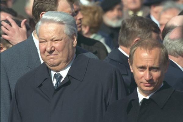 Путин ельцын