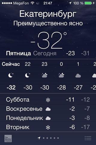 32 мороза 2 января 2015