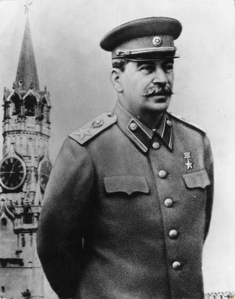 Сталин генералиссимус во весь рост