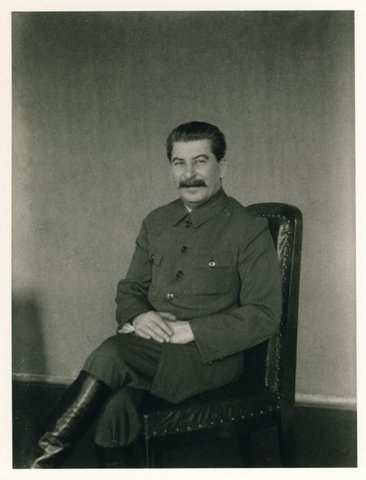 Сталин фотосессия