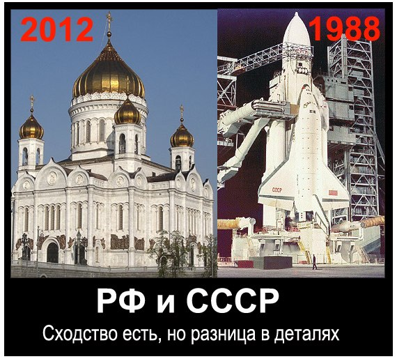 СССр и РФ