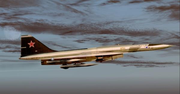 Сотка Т-4 полет.