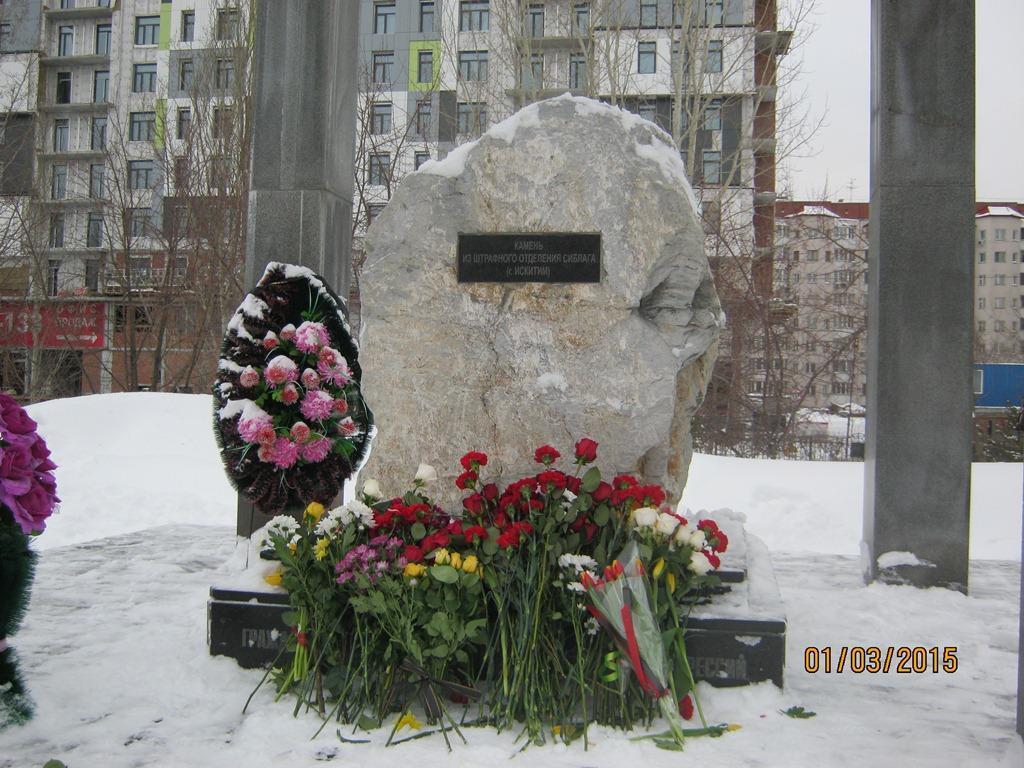 01.03.15 Камень в Нарымском сквере