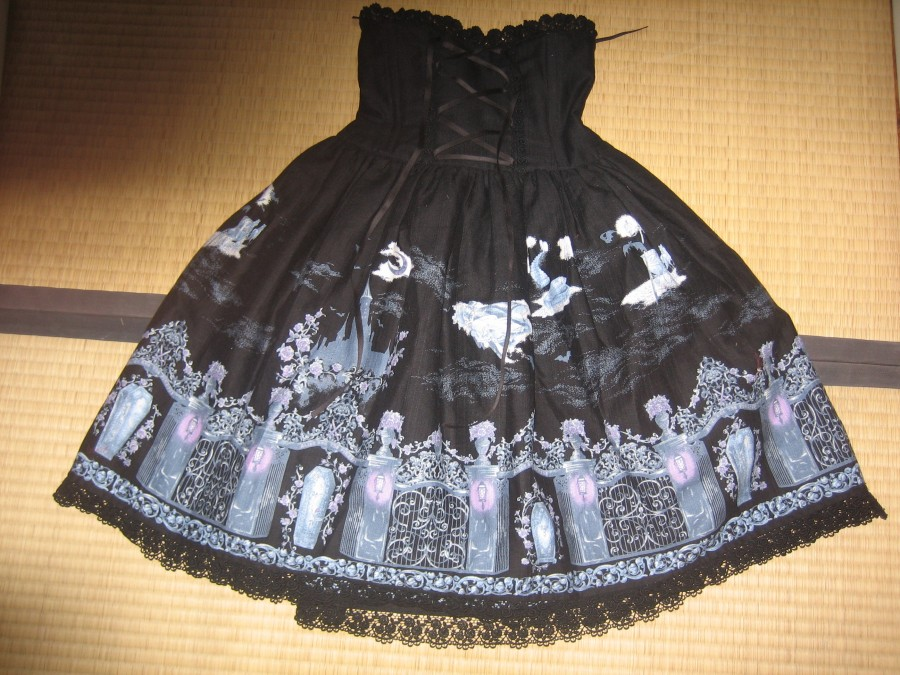 Alice and the Pirates - Vampire Requiem black skirt