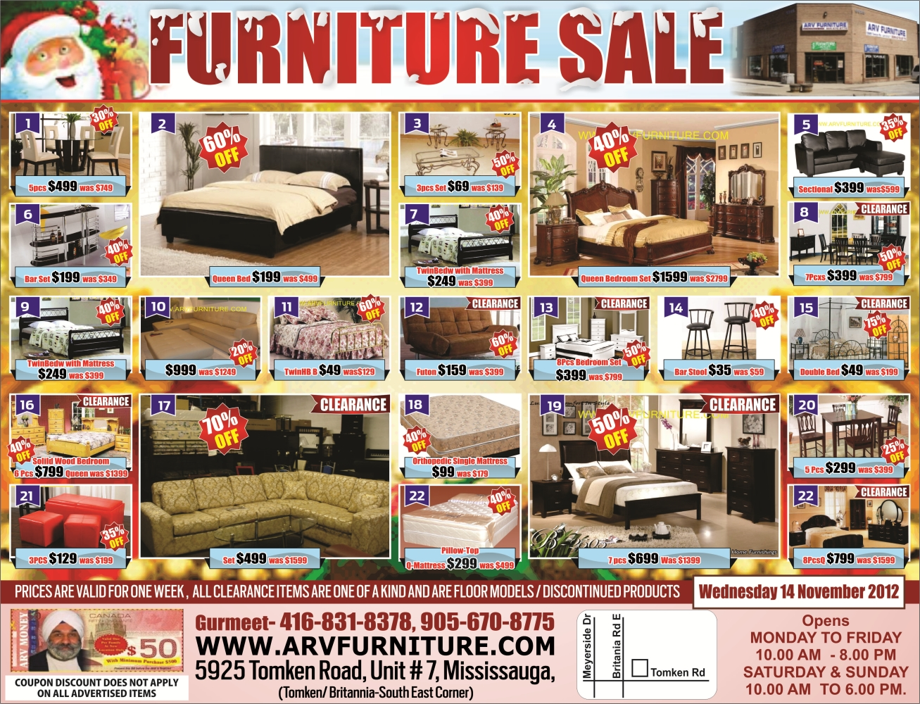 17 arv furniture flyers flyers arv furniture flyers for P s furniture flyer