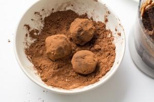 шоколадные конфеты процесс 6