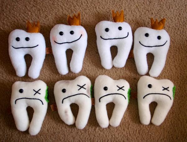 мягкие зубы