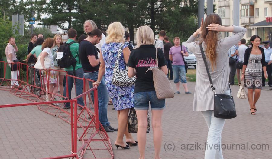 Ижевск, акция в поддержку Навального в Ижевске