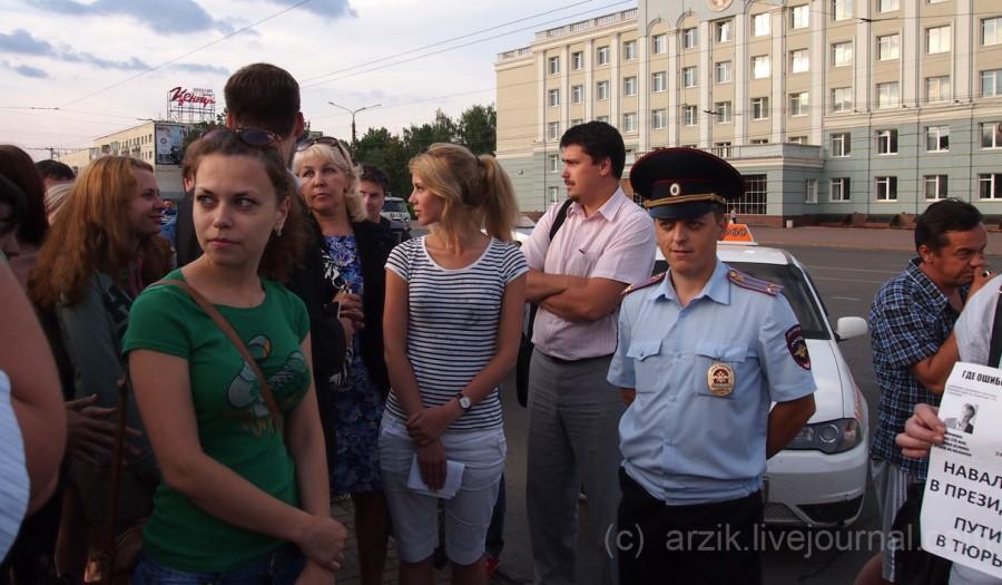 Ижевск поддержал Навального