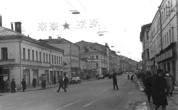 Сретенка. 1970
