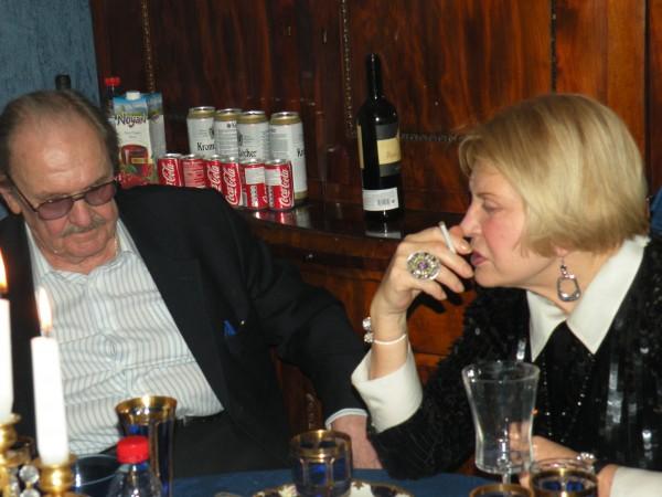 Юрий Яковлев и Людмила Максакова (фото - Асаф Фараджев)