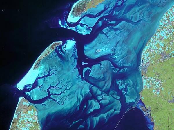 голландия ваттово море