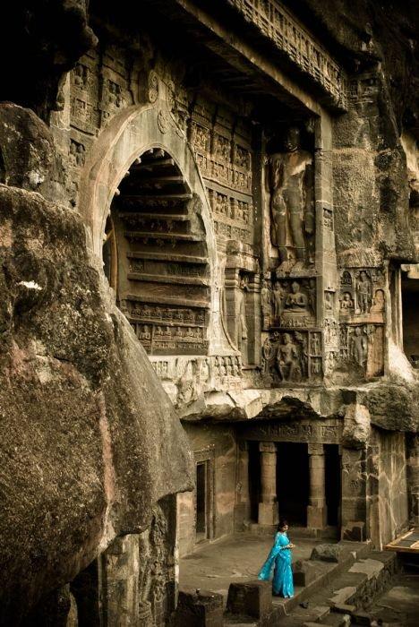пещеры эллоры