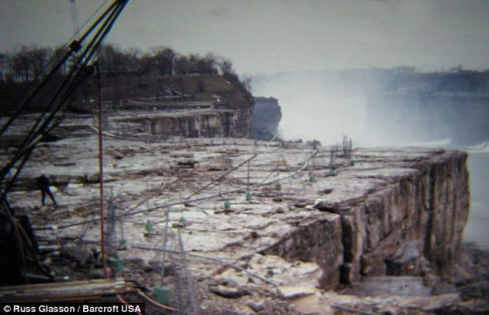 ниагарский водопад осушили