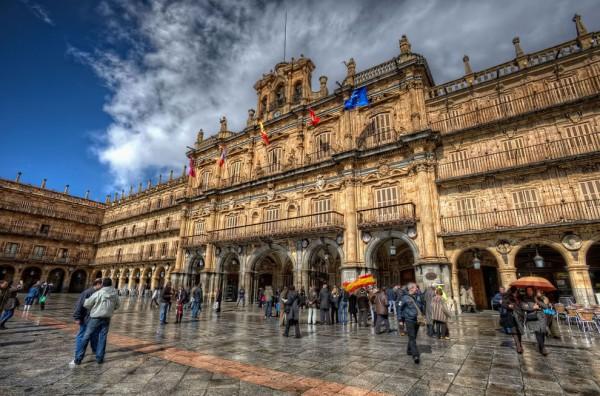испания архитектура зрелищно