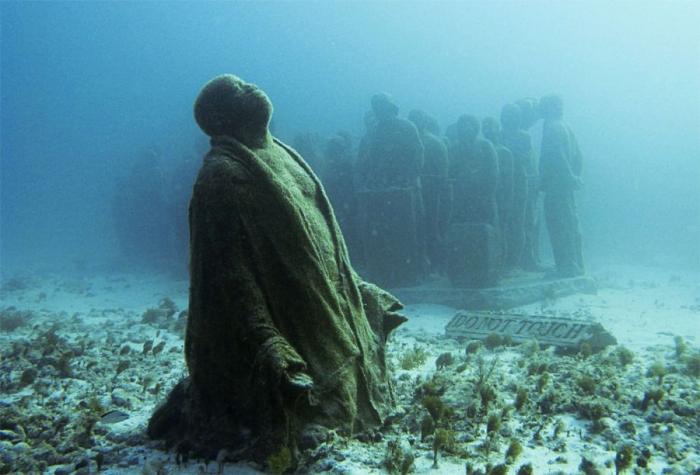 Подводный музей, Мексика