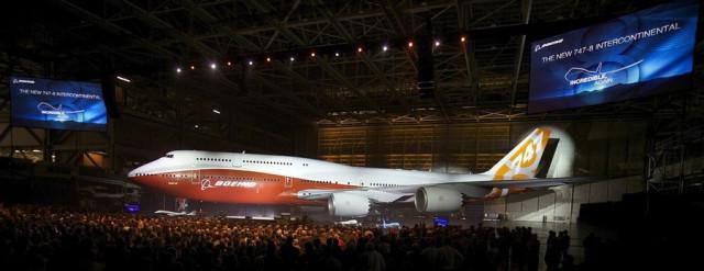 Новый Боинг 747-8 Intercontinental