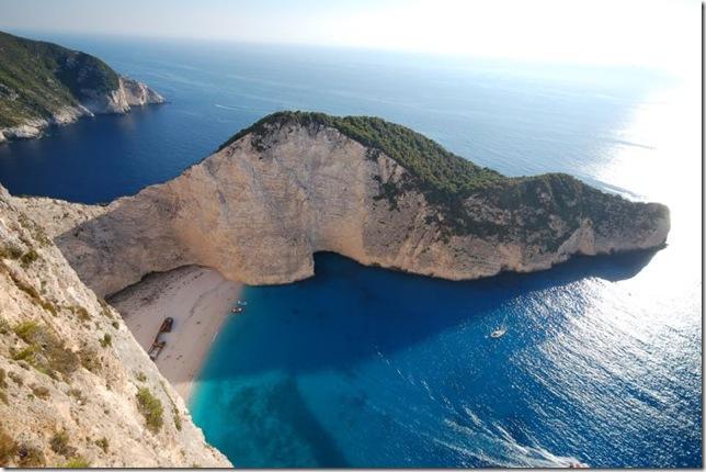 Лучший пляж мира на Острове Закинф