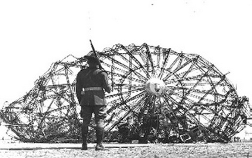 Тайна гибели дирижабля «Гинденбурга»
