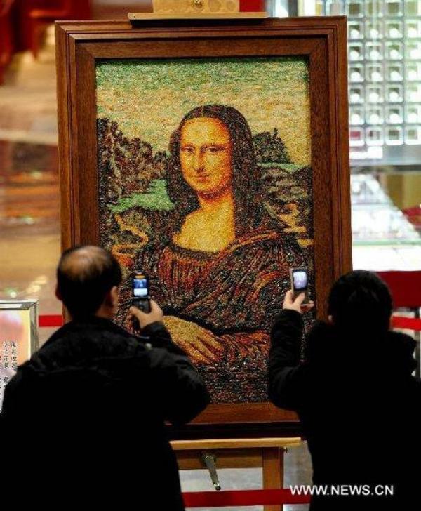 Драгоценная Мона Лиза