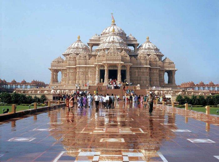 Храм Акшардхам в Индии