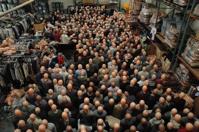 Как создается массовка