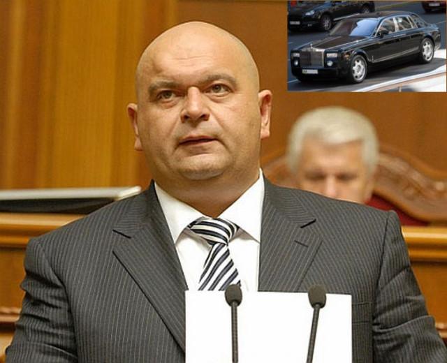 VIP-гараж украинских политиков