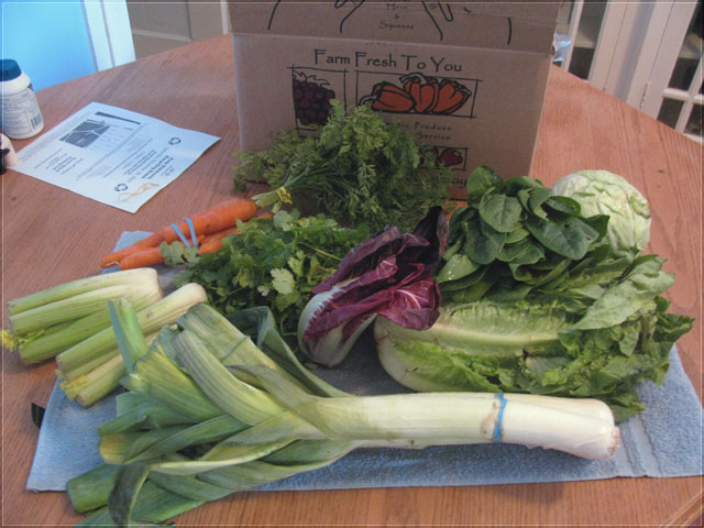 10 pounds of leafy greens?!