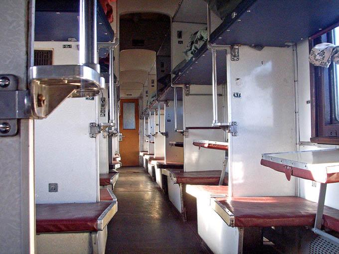 Схема вагона плацкартного поезда