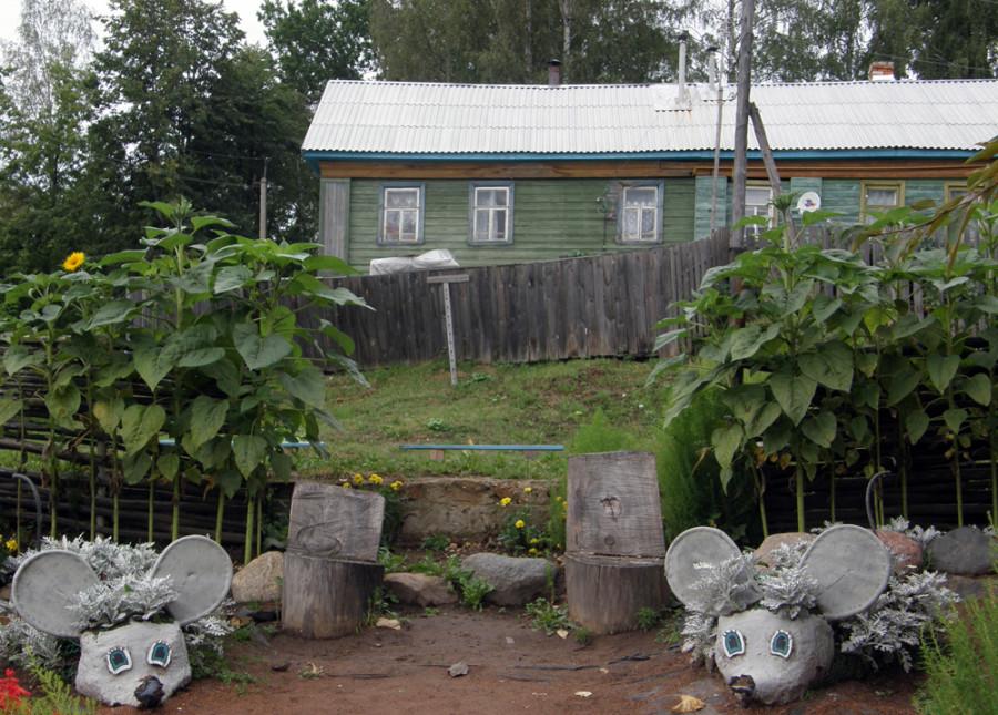 Мыши-в-саду