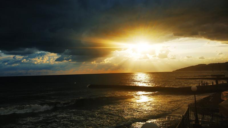 Сочи. Лето. Море.