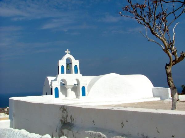 Santorini.White and Blue.