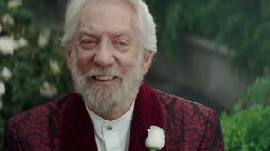 4 - Donald Sutherland as President Snow
