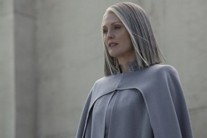 9 - Julianne Moore as President Alma Coin