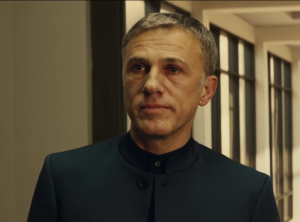 10 - Christoph Waltz as Ernst Stavros Blofeld