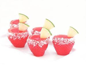 StrawberryMargaritaJelloShooters