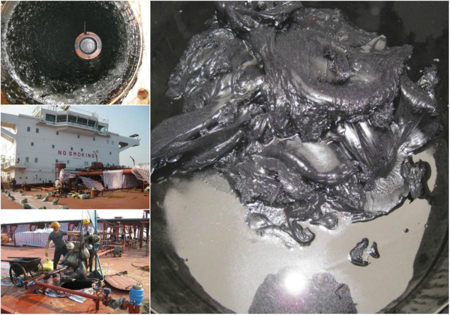 Как от мазута чистят танкеры