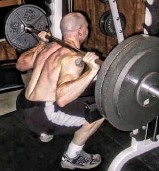 squat position correcte