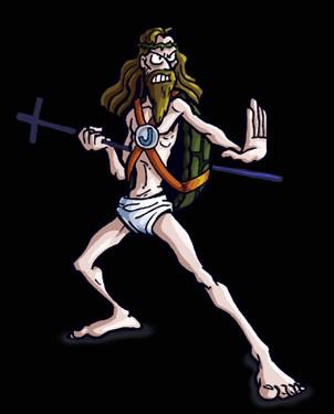Jesus goes kung-fu