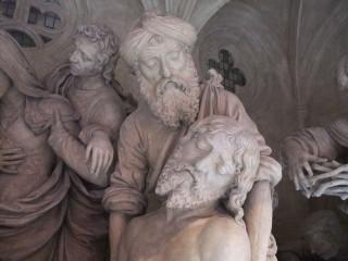 Le Christ est déposé en terre