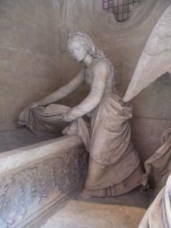 Une sainte femme découvre le tombeau