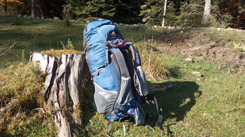 мой новый рюкзак для легкоходства