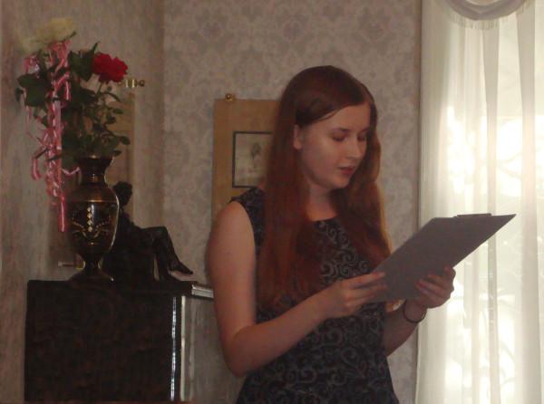Литературный спектакль в доме-музее Вересаева
