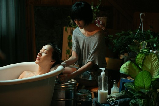 Queen Uhm Jung Hwa And Kim Hyo Jin Release Seductive Lesbian Stills For Upcoming -3940