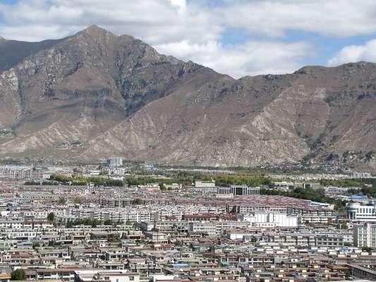 Панорама города Лхаса