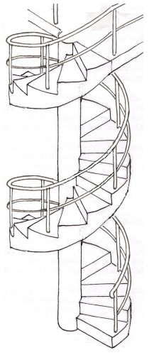 Today On DwP: How To Construct A Spiral Staircase :)