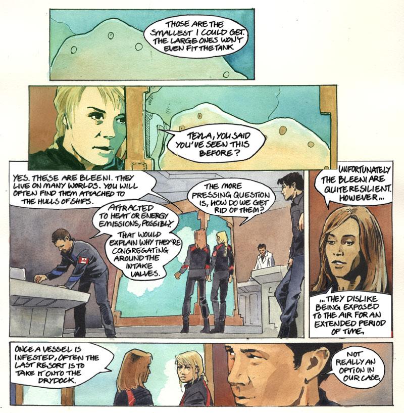 Astrid - Creature (Double) Feature: a Stargate Atlantis comic